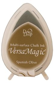 Tsukineko VersaMagic Dew Drop Ink Pad - Spanish Olive