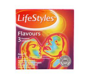 Lifestyle Flavours Condom 3's