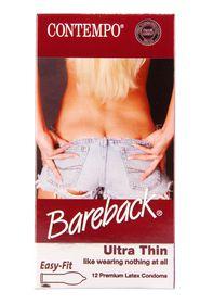 Contempo Bareback Condom 12's
