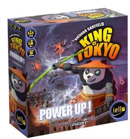 King of Tokyo Power Up Board Game