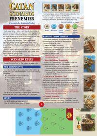 Catan Scenarios Frenemies of Catan Board Game