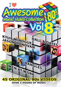 Awesome 80s Music Video Collection Vol.8 - Various (DVD)