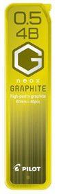 Pilot Neox Graphite Pencil Lead - 4B 0.5mm