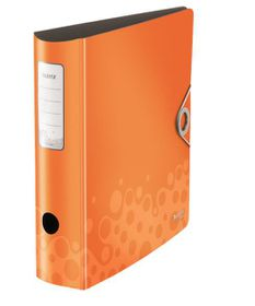 Leitz Bebop A4 Lever Arch Active File 80mm 180 Degree - Orange