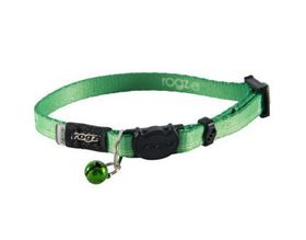 Rogz - Catz KiddyCat Extra-Small Safeloc Breakaway Cat Collar - Lime