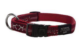 Rogz - Fancy Dress Medium Scooter Dog Collar - Red