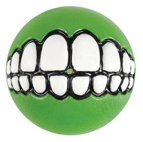 Rogz Grinz Small Dog Treat Ball - Lime