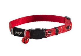 Rogz - Catz FancyCat Safeloc Breakaway Cat Collar - Red