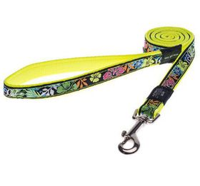Fancy Dress Small Jellybean Fixed Dog Lead - Floral
