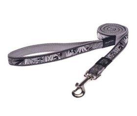 Rogz - Fancy Dress Medium Scooter Fixed Dog Lead - Silver