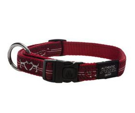 Rogz - Fancy Dress Extra Extra-Large Special Agent Dog Collar - Red