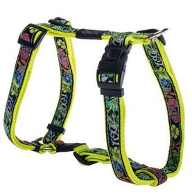 Rogz - Fancy Dress Extra-Large Armed Response Dog H-Harness - Floral