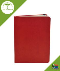 Eco Notebook Hard Cover A5 - Red