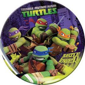 Teenage Mutant Ninja Turtles Coupe Plate - Melamine