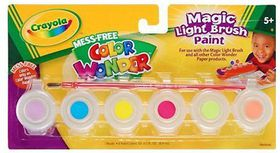Crayola Colour Wonder Gel Paints - 6 Piece