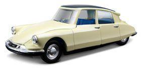 Bburago 1-32 Citroen DS19 - Street Classics - Cream