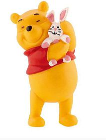 Bullyland Winnie the Pooh with Rabbit - 6.6cm