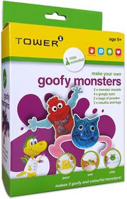 Toby Tower Little Scientist - Make Your Own Goofy Monsters
