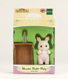 Sylvanian Family Chocolate Rabbit Baby