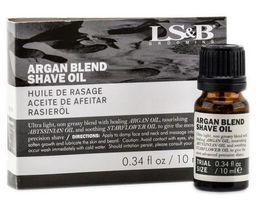 LS&B Grooming Argan Blend Shave Oil - 10ml