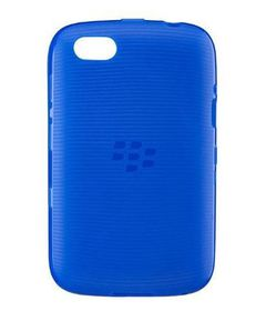 BlackBerry 9720 Soft Shell - Pure Blue Translucent