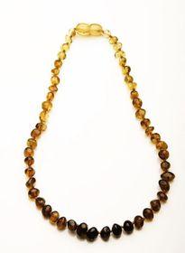 Baltic Amber - Teething Necklace - Rainbow