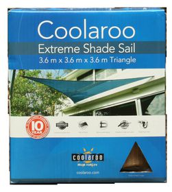 Coolaroo - Extreme Shade Sail Right Angle Triangle - Desert Sand