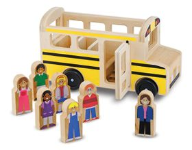 Melissa & Doug Wooden School Bus