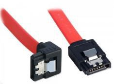 Lindy 1m SATA Cable 90 Degree Latch Type