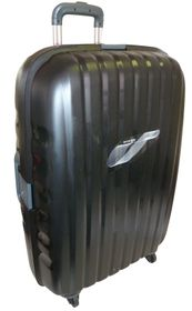 Tosca Airmax TSA Injection Mould PP Trolley Case - Black