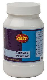 Dala Canvas Primer - 500ml Jar