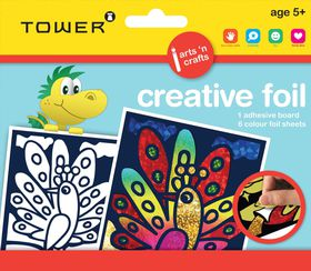 Tower Kids Creative Foil - Peacock