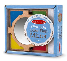 Melissa & Doug Colour-Flap Mirror