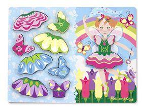 Melissa & Doug Princess Dress - Up Chunky Puzzle