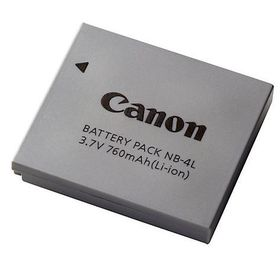 Canon NB-4L Li ion Battery