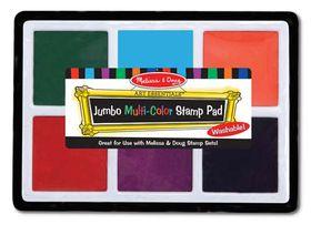 Melissa & Doug Jumbo Multi-Colour Stamp Pad