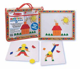 Melissa & Doug Magnetic Pattern Block