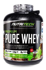 Nutritech Premium Pure Whey - Vanilla 3.2kg