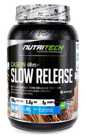 Nutritech Casein Slow Release - Strawberry Cheesecake