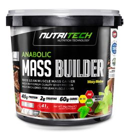 Nutritech Anabolic Mass Builder - Strawberry 5kg