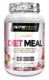 Nutritech Dietmeal - Strawberry Cup Cake