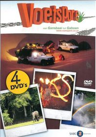 Voetspore 5 van Gansbaai tot Gaboen  (DVD)