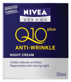 Nivea Visage Q10 Night Cream - 50ml