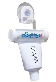 Exsqueezeit Toothpaste Squeezer - White