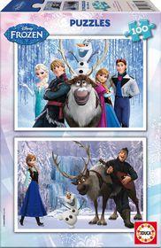 Frozen Puzzle (2x100pc)