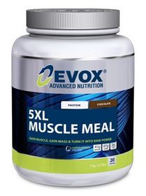 Evox 5Xl Muscle Meal - Strawberry 1kg