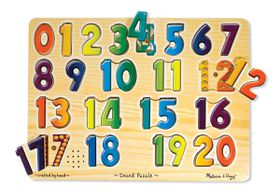 Melissa & Doug Numbers - 21 Piece
