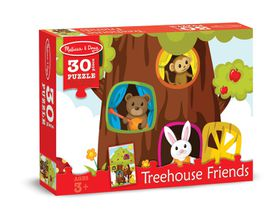 Melissa & Doug Treehouse Friends Jigsaw Puzzle - 30 Piece