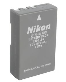 Nikon EN-EL9A Li ion Battery