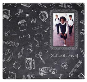 MCS 12x12 Postbound Album - Chalkboard